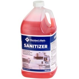 Member's Mark Commercial Sanitizer, 1 gal. (Choose Pack Size)
