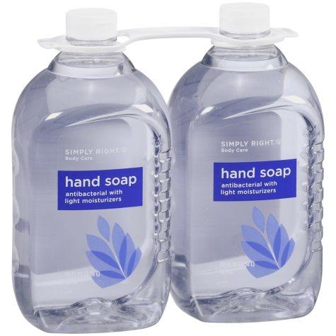 Simply Right Body Care - Hand Soap Refill - 80 fl. oz. - 2 pk..