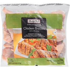 Daily Chef Boneless Skinless Chicken Breast with Rib Meat - 6 lb.