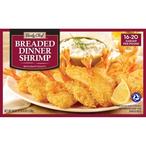 Daily Chef  Breaded Dinner Shrimp  (40 oz.)