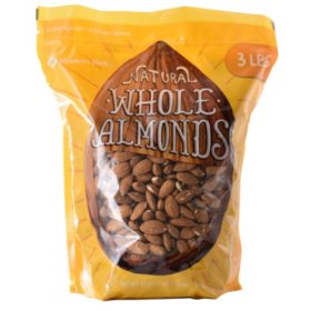Member's Mark Whole Almonds (3 lbs.)