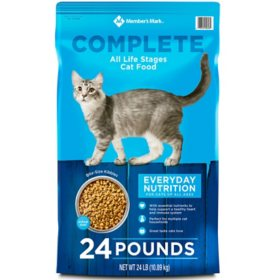Member's Mark Complete All Life Stages Cat Food (24 lbs.)