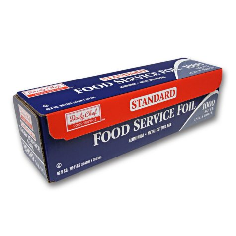 """Daily Chef Standard Foodservice Foil, 12"""" x 1000'"""