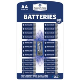 Member's Mark Alkaline AA Batteries (48 pk.)