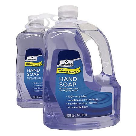 Member's Mark Hand Soap Refill (80 fl. oz., 2 pk.)