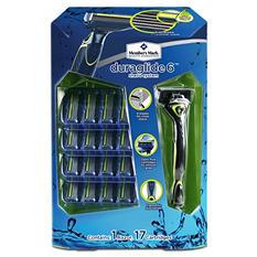 Member's Mark Duraglide 6 Shave System (1 razor, 17 cartridges)