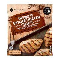 Member's Mark Mesquite Grilled Chicken Breast, Frozen (3 lbs.)