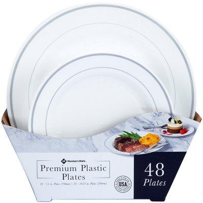 charming Sams Plastic Plates Part - 1: Disposable Plates