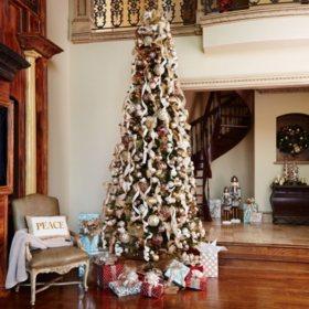 12 ft members mark artificial pre lit ellsworth fir christmas tree detail 2