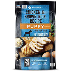 Member's Mark Exceed Dry Puppy Food, Chicken & Rice (20 lbs.)