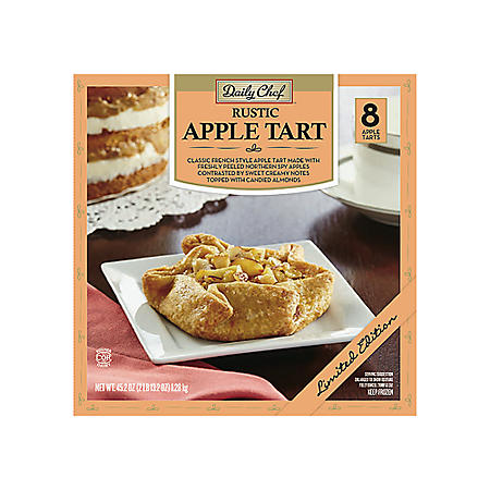 Daily Chef Rustic Apple Tart (8 ct.)