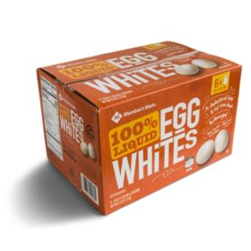 Member's Mark 100% Liquid Egg Whites (16 oz. cartons, 6 pk.)