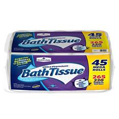 Member's Mark Bath Tissue Ultra Premium, 2-ply (265 Sheets, 45 Rolls)