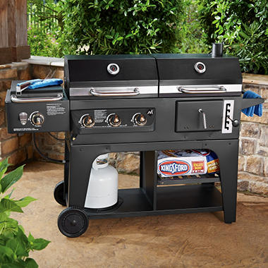 Member S Mark Gas And Charcoal Hybrid Grill Sam S Club