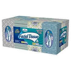 Member's Mark 2-Ply Facial Tissue (12 pk., 164 tissues per box)
