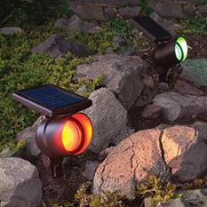 Member's Mark Solar Color Changing Spotlights (2 pk.)