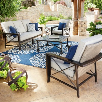 Memberu0027s Mark Katana 4 Piece Seating Set