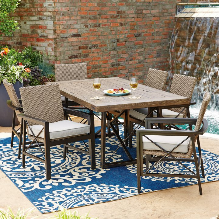 Members Mark Katana 7 Piece Dining Set