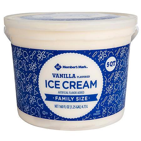 Member's Mark Vanilla Ice Cream (5 qt.)