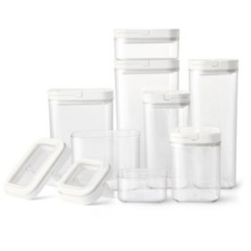 Member's Mark Fliplock Containers Set 8 Pcs.