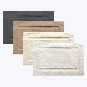 "Member's Mark Reversible Plush Bath Rug 23"" x 36"" (Assorted Colors)"