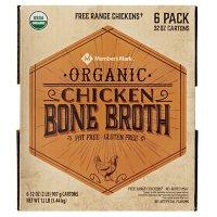 Member's Mark Organic Chicken Bone Broth (32 oz., 6 pk.)