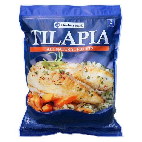 Member's Mark Tilapia Fillets (3 lb.)