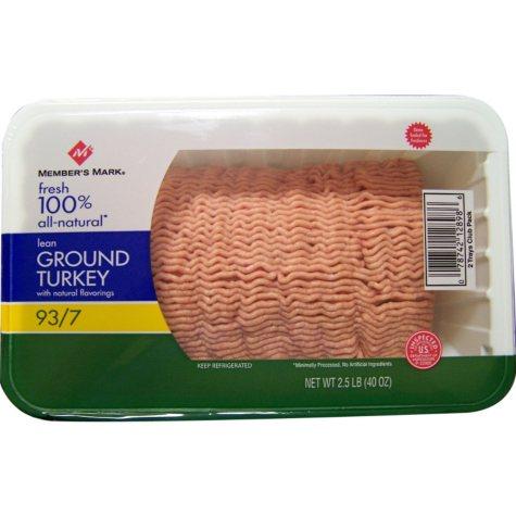 Member's Mark Lean Ground Turkey (40 oz.)