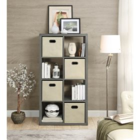 Members Mark 8 Cube Room Organizer Orted Colors