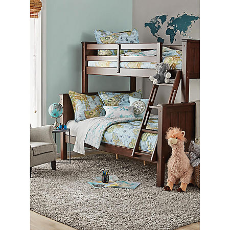 Member's Mark Tenley Twin-Over-Full Bunk Bed, Assorted Colors