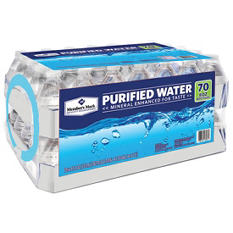 Member's Mark Purified Water (8 oz. bottles, 70 ct.)