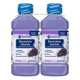 Member's Mark Grape Electrolyte Solution (33.8 fl. oz., 2 pk.)