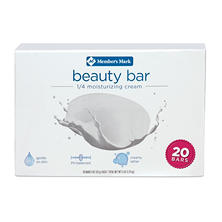 Member's Mark Beauty Bar (4 oz., 20 ct.)