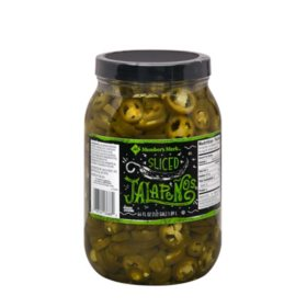 Member's Mark Sliced Jalapeno Peppers (64 oz.)