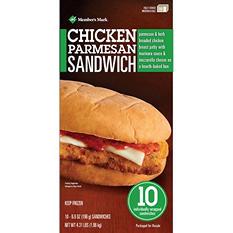Member's Mark Chicken Parmesan Sandwich (10 ct.)