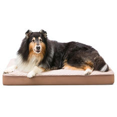 "Member's Mark Self Cooling Pet Bed (30"" x 40"" x 4"") Choose Brown or Gray"
