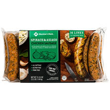 Member's Mark Spinach & Asiago Chicken Sausage (16 links)