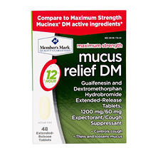 Member's Mark Mucus DM, 1200 mg (48 ct.)