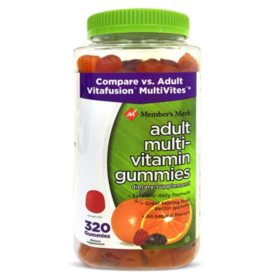 Member's Mark Adult Multi-Vitamin Gummies (320 ct.)