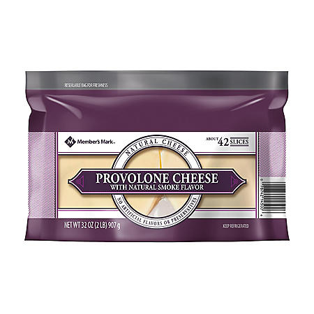Member's Mark Smoked Provolone Cheese Slices (2 lb.)