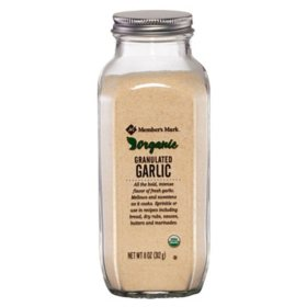 Member's Mark Organic Garlic Granulated (11 oz.)