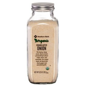 Member's Mark Organic Granulated Onion (9.25 oz.)