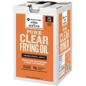 Member's Mark Canola Clear Liquid Shortening (35 lbs.)