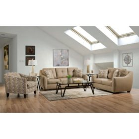 Member S Mark Talbot Sofa Loveseat And Accent Chair Set Sam S Club