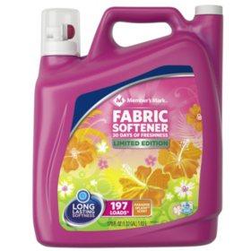 Member's Mark Liquid Fabric Softener, Paradise Splash Scent (170 oz.)