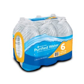 Member's Mark Purified Water (1gal / 6pk)