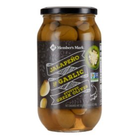 Member's Mark Jalapeno & Garlic Stuffed Olives (20.5 oz.)