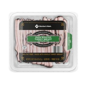 Member's Mark Oven Roasted Turkey Breast, Sliced (22 oz.)