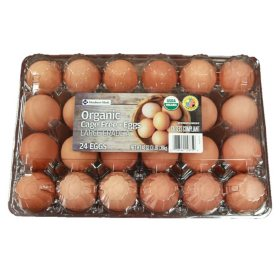 Member's Mark Organic Cage Free Large Brown Eggs (24 ct.)