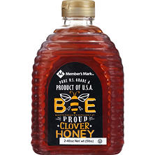 Member's Mark Bee Proud All-American Fancy Clover White Honey (40 oz., 2 ct.)